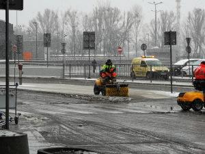 Snow Warsaw